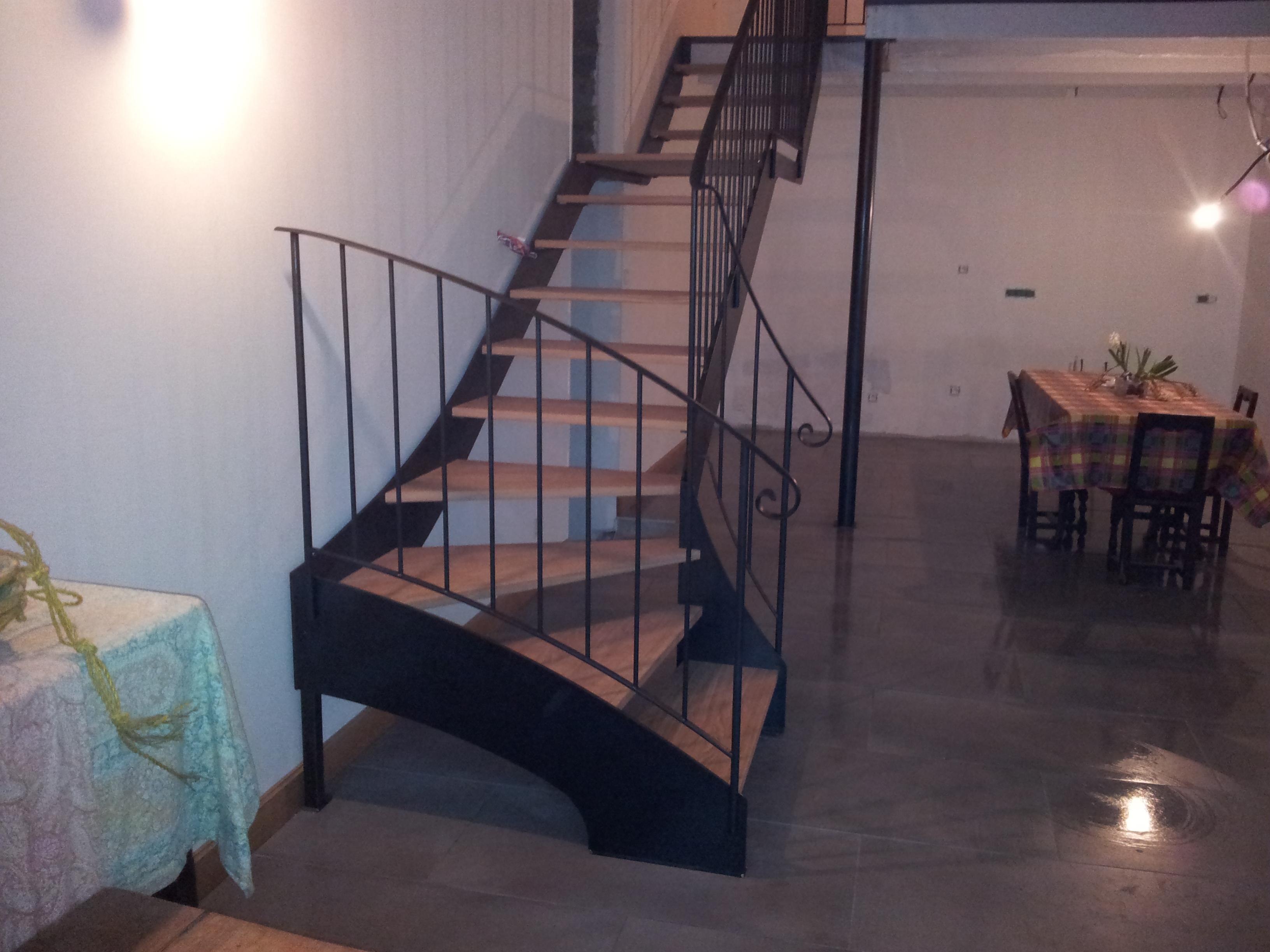 Escalier Bois Metal Noir escaliers - entreprise rageau - menuiserie métallerie